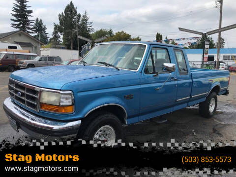 1992 Ford F-150 for sale at Stag Motors in Portland OR