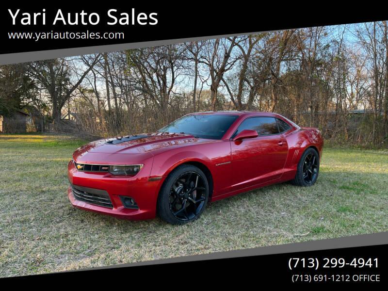 2014 Chevrolet Camaro for sale at Yari Auto Sales in Houston TX
