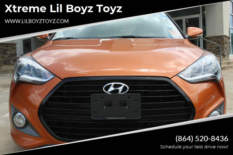 2016 Hyundai Veloster for sale at Xtreme Lil Boyz Toyz in Greenville SC