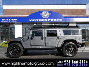2004 HUMMER H1 for sale at Highline Group Motorsports in Lowell MA