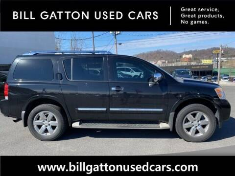 2010 Nissan Armada for sale at Bill Gatton Used Cars in Johnson City TN