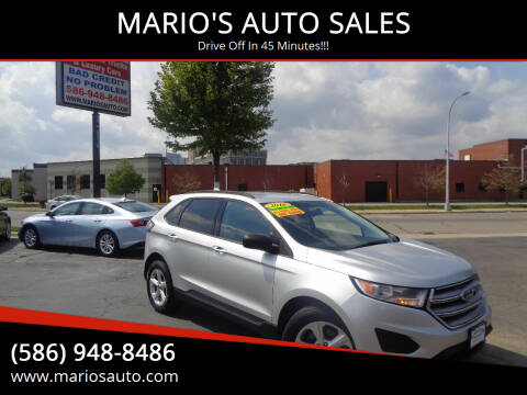 2016 Ford Edge for sale at MARIO'S AUTO SALES in Mount Clemens MI