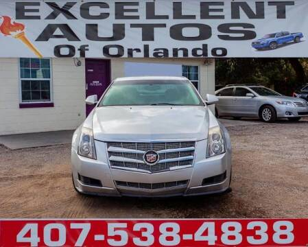 2009 Cadillac CTS for sale at Excellent Autos of Orlando in Orlando FL