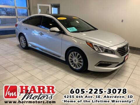 2015 Hyundai Sonata for sale at Harr Motors Bargain Center in Aberdeen SD