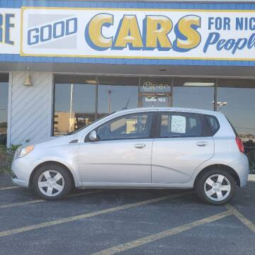 2010 Chevrolet Aveo for sale at Good Cars 4 Nice People in Omaha NE