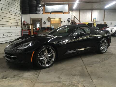 2015 Chevrolet Corvette for sale at T James Motorsports in Gibsonia PA