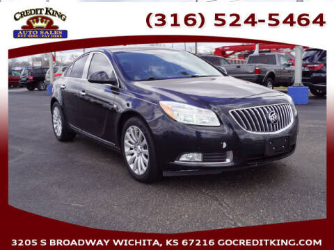 2011 Buick Regal for sale at Credit King Auto Sales in Wichita KS