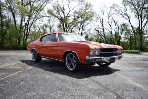 1970 Chevrolet Chevelle Malibu for sale at Studio Hotrods in Richmond IL