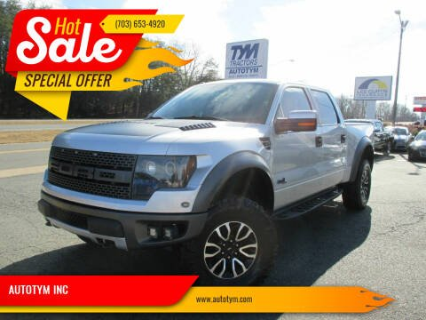 2012 Ford F-150 for sale at AUTOTYM INC in Fredericksburg VA