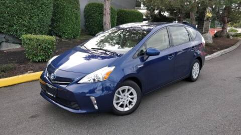2013 Toyota Prius v for sale at SS MOTORS LLC in Edmonds WA