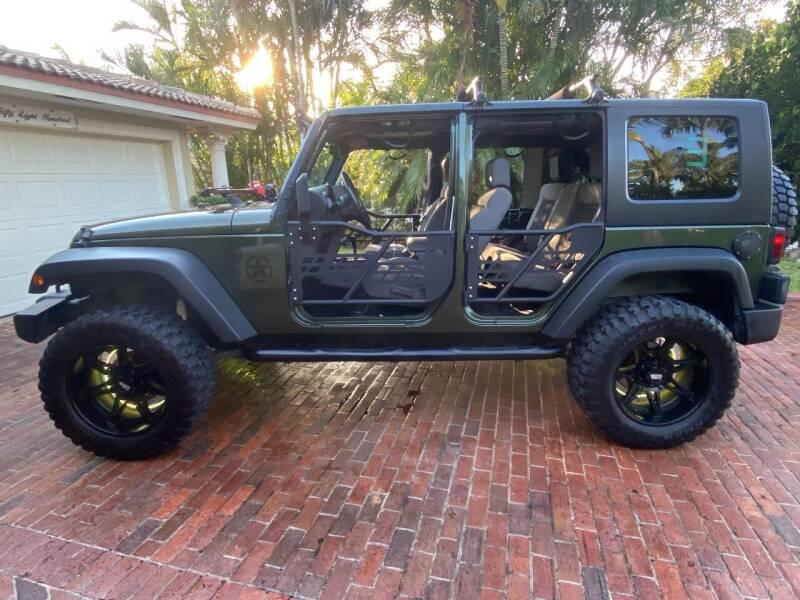 2008 Jeep Wrangler Unlimited for sale at BIG BOY DIESELS in Ft Lauderdale FL