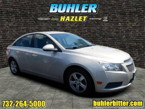 2013 Chevrolet Cruze for sale at Buhler and Bitter Chrysler Jeep in Hazlet NJ