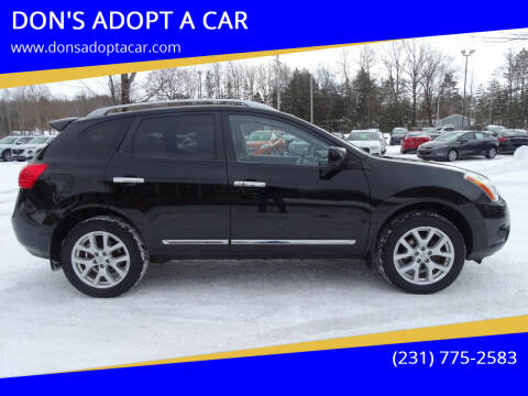 2012 Nissan Rogue for sale at DON'S ADOPT A CAR in Cadillac MI