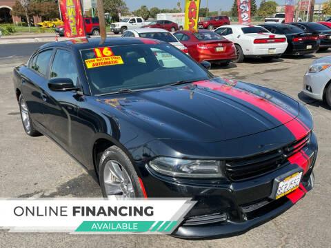 2016 Dodge Charger for sale at Super Cars Sales Inc #1 - Super Auto Sales Inc #2 in Modesto CA