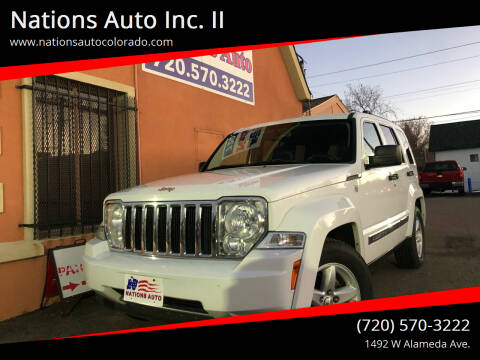 2012 Jeep Liberty for sale at Nations Auto Inc. II in Denver CO