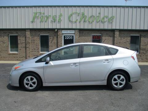 2012 Toyota Prius for sale at First Choice Auto in Greenville SC