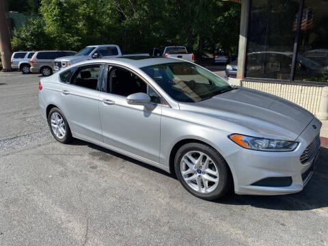 2015 Ford Fusion for sale at J Franklin Auto Sales in Macon GA