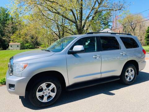 2012 Toyota Sequoia for sale at 41 Liberty Auto in Kingston MA