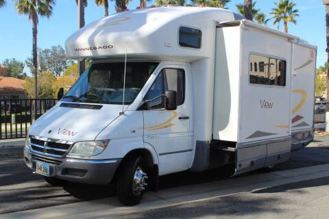 2007 Winnebago View 23J Sprinter Diesel for sale at Rancho Santa Margarita RV in Rancho Santa Margarita CA