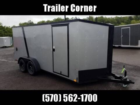 2022 Look Trailers STLC 7X16 - BLACKED OUT