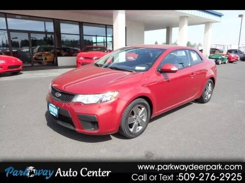 2010 Kia Forte Koup for sale at PARKWAY AUTO CENTER AND RV in Deer Park WA