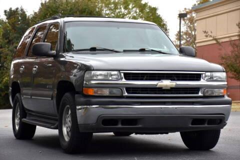 2002 Chevrolet Tahoe for sale at Wheel Deal Auto Sales LLC in Norfolk VA