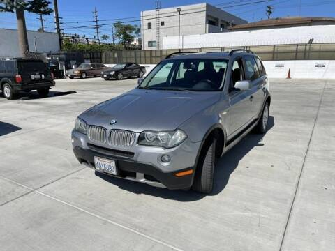 2007 BMW X3 for sale at Hunter's Auto Inc in North Hollywood CA