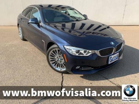 2015 BMW 4 Series for sale at BMW OF VISALIA in Visalia CA