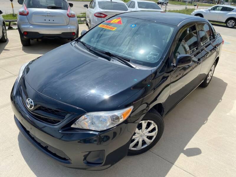 2012 Toyota Corolla for sale at Raj Motors Sales in Greenville TX