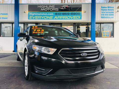2015 Ford Taurus for sale at Highline Motors in Aston PA