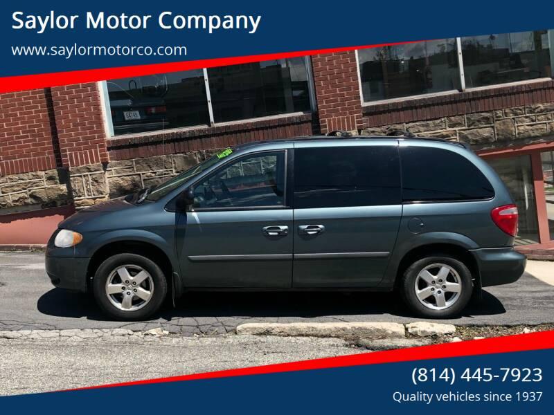2006 Dodge Caravan for sale at Saylor Motor Company in Somerset PA