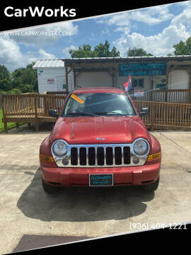 2007 Jeep Liberty for sale at CarWorks in Orange TX