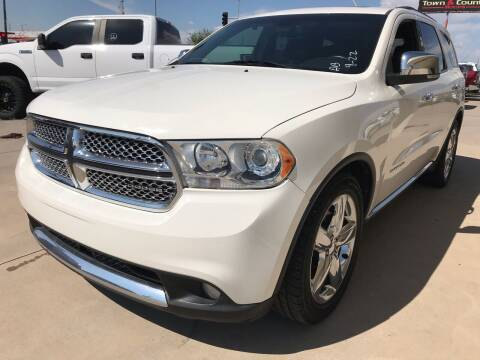 2011 Dodge Durango for sale at Town and Country Motors in Mesa AZ