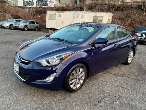 2014 Hyundai Elantra for sale at Crazy Cars Auto Sale in Jersey City NJ