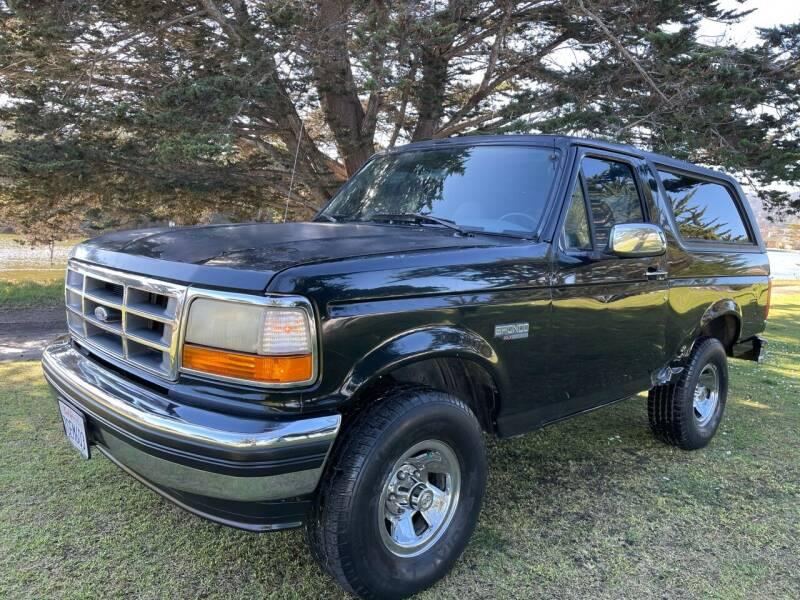 1995 Ford Bronco for sale at Dodi Auto Sales in Monterey CA