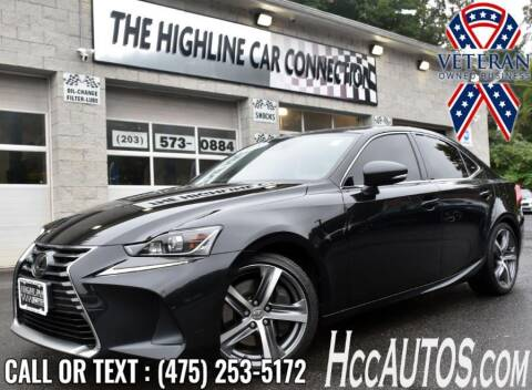 2018 Lexus IS 300 for sale at The Highline Car Connection in Waterbury CT