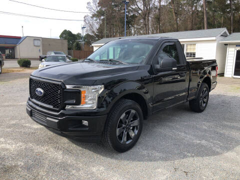 2018 Ford F-150 for sale at Robert Sutton Motors in Goldsboro NC