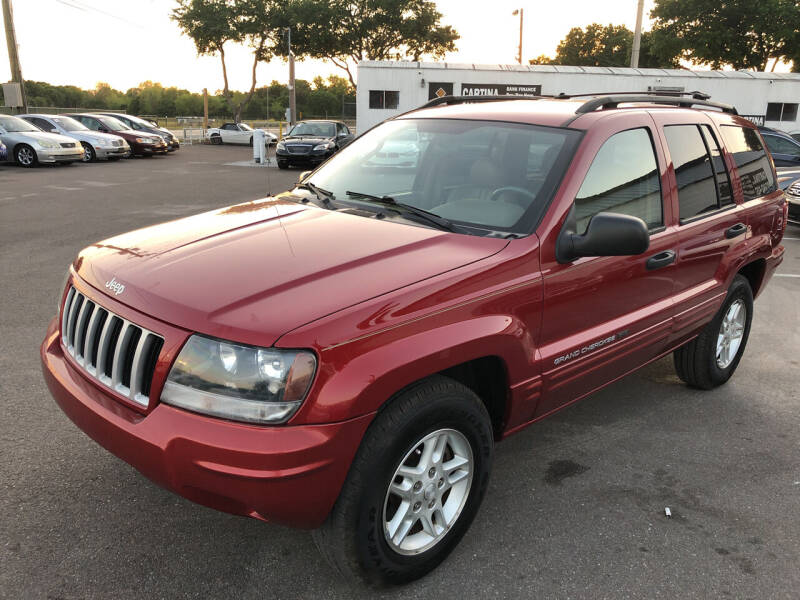 2004 Jeep Grand Cherokee for sale at Cartina in Tampa FL