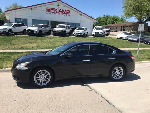 2011 Nissan Maxima for sale at Efkamp Auto Sales LLC in Des Moines IA