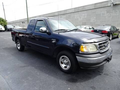 2002 Ford F-150 for sale at DONNY MILLS AUTO SALES in Largo FL