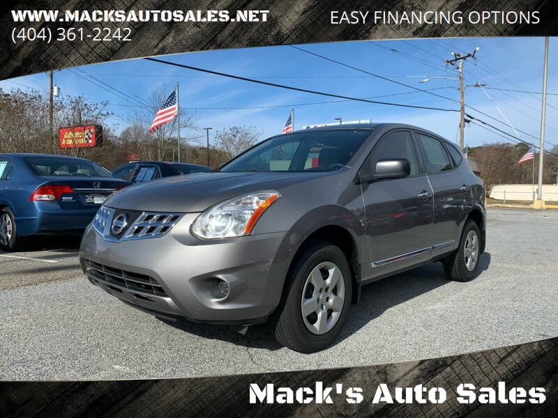 2012 Nissan Rogue for sale at Mack's Auto Sales in Forest Park GA