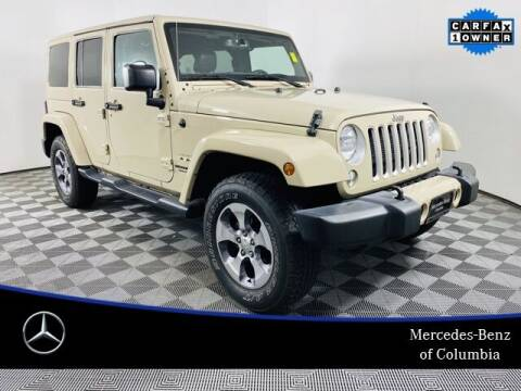 2016 Jeep Wrangler Unlimited for sale at Preowned of Columbia in Columbia MO