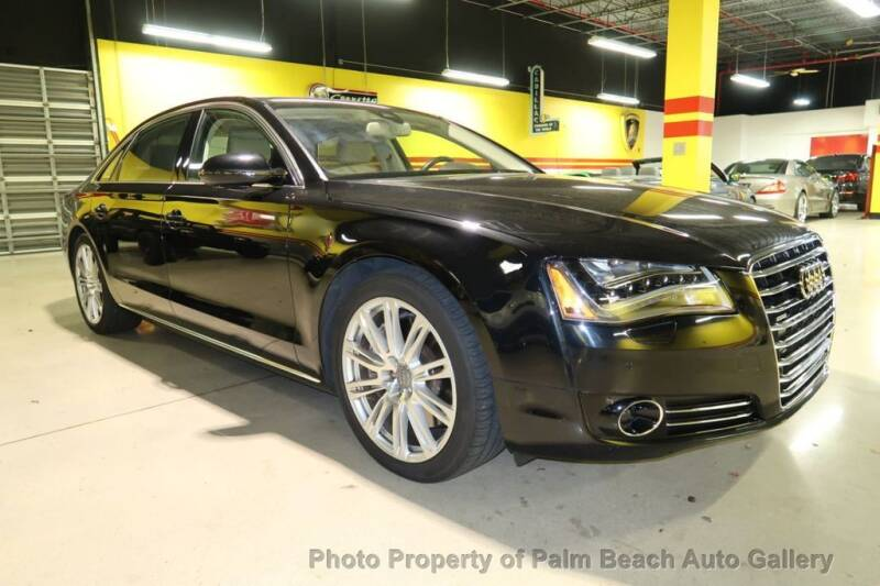 2012 Audi A8 L for sale in Boynton Beach, FL