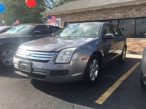 2006 Ford Fusion for sale at US 30 Motors in Merrillville IN
