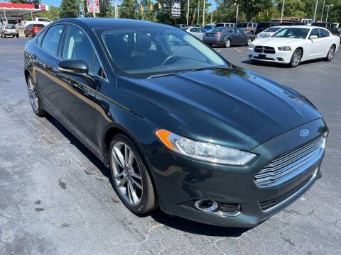 2014 Ford Fusion for sale at JV Motors NC 2 in Raleigh NC