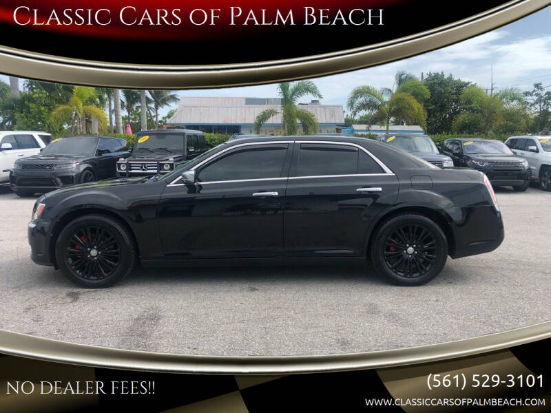 2014 Chrysler 300 for sale at Classic Cars of Palm Beach in Jupiter FL