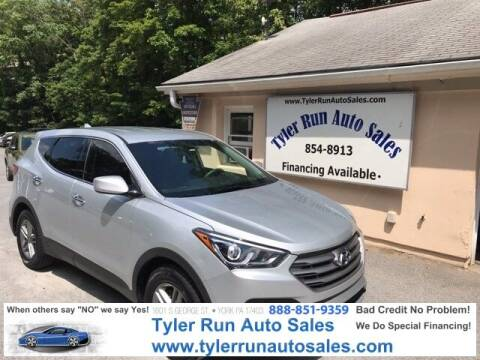 2017 Hyundai Santa Fe Sport for sale at Tyler Run Auto Sales in York PA