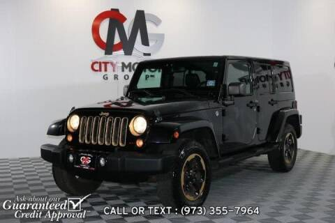 2014 Jeep Wrangler Unlimited for sale at City Motor Group, Inc. in Wanaque NJ