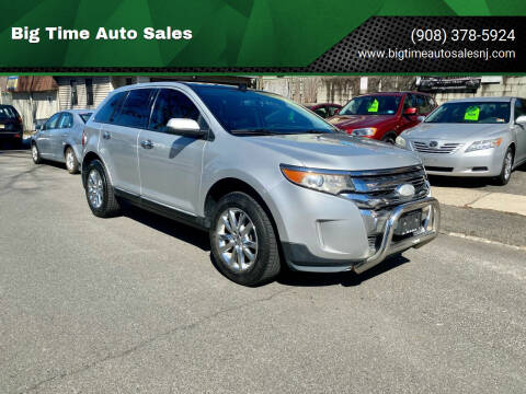 2011 Ford Edge for sale at Big Time Auto Sales in Vauxhall NJ