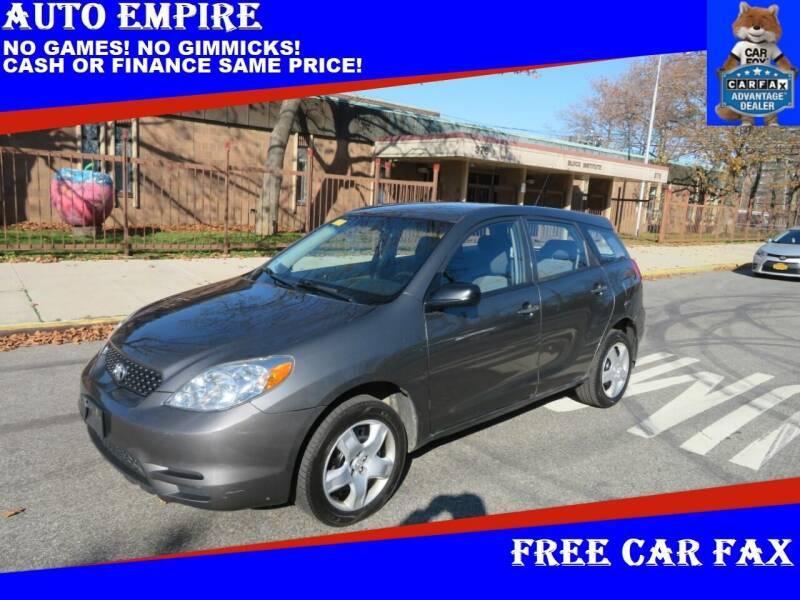 2004 Toyota Matrix for sale at Auto Empire in Brooklyn NY